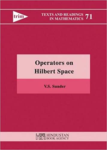 Operators on hilbert space texts and readings in mathematics operators on hilbert space texts and readings in mathematics fandeluxe Gallery