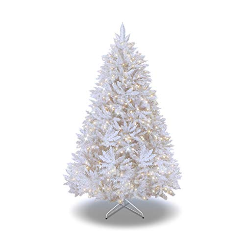 7 5 Artificial Christmas Tree With Led Lights in US - 4