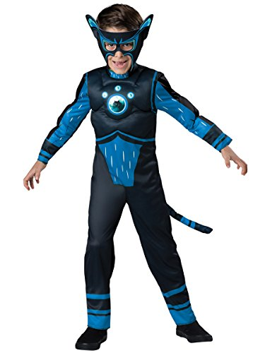 [InCharacter Costumes Panther Costume, Blue, Size 4] (Panther Costumes)