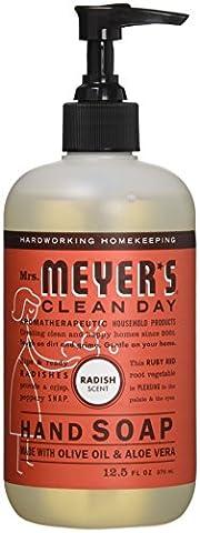 Mrs. Meyer's Liquid hand soap, Radish scent, 12.5 fl oz (Meyers Hand Soap Radish)