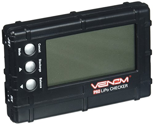 Venom Pro LiPo Checker Multi Tool with Balance and Discharge Function