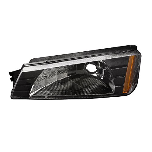 Signal Park Assembly Light (Headlights Depot Replacement for Chevrolet Chevy Avalanche Park Signal Light Style OE Replacement Driver Side New)