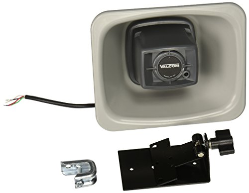 Price comparison product image Valcom V-1080-GY One Way 3-watt Amplified FlexHorn with Mounting Bracket