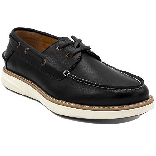 - Nautica Men's Oxford Shoe Fashion Sneaker-Nueltin Sport 2-Black-9.5