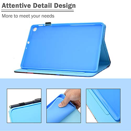 A-BEAUTY Case Cover for Samsung Galaxy Tab S6 Lite 10.4 Inch 2020 (Model: SM-P610/P615) with Screen Protector [Lightweight] Stand Cover with [Auto Sleep/Wake] - Elephant
