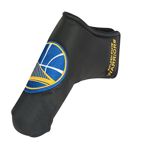Team Effort NBA Golden State Warriors Black Blade Putter Coverblack Blade Putter Cover, NA