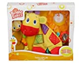 Bright Starts Teethe With Me Gift Set - Twist and Teethe toy, Rattle and Shake Barbell, Snuggle and Teethe Giraffe, Polar Gel Teether - 4 most popular toys in one set!