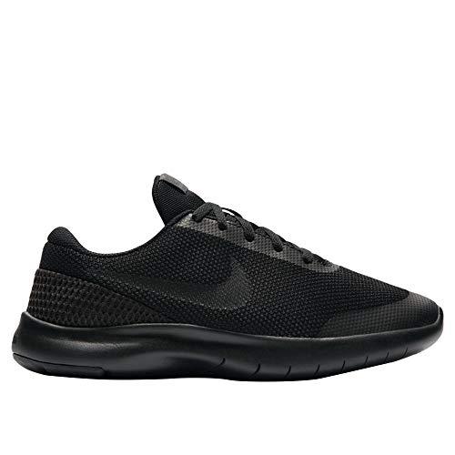 Nike Boy's Flex Experience RN 7 Running Shoes (4 M US Big Kid, Black/Black/Anthracite)