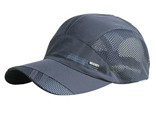 3db4ac86f42 FEOYA Summer Outdoor Sports Running. Review - FEOYA Men s Summer Outdoor  Sport Outdoor Sports Mesh Hat Running Visor Sun Cap