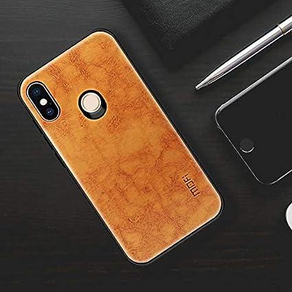 new arrival b6fc6 1f506 Amazon.com: For cellphone Cases, MOFI Shockproof PU Paste PC Case ...