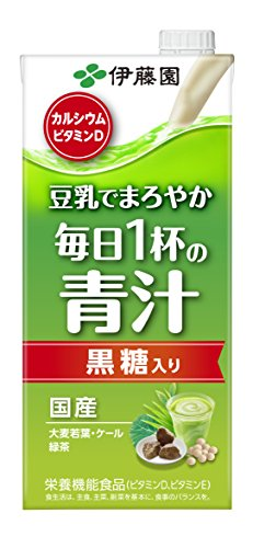 ITO EN daily cup of green juice (paper pack) 1LX6 this by Every day one cup of green juice