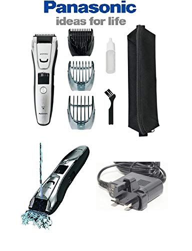 Panasonic ER-GB80-S511 Precise Trimmer & Style, Face & Body 0.5mm-20mm/ Wet & Dry/Quick Rechargeable Universal Voltage with 3 Additional Attachements