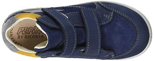 Ricosta Jungen Kimo Kurzschaft Stiefel Blau (nautic 170)