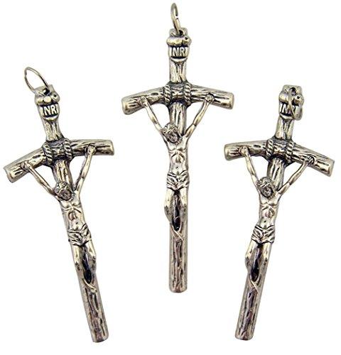 Rosary Papal Crucifix - 5