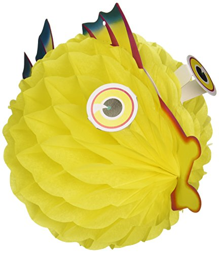 Tissue Bubble Fish - Tissue Bubble Fish (asstd colors) Party Accessory  (1 count) (1/Pkg)