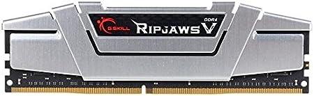 G.SKILL 16GB (2 x 8GB) Ripjaws V Series DDR4 PC4-21300 2666MHz لـ Intel Z170 Platform / Intel X99 Platform Memory Desktop Memory Model F4-2666C15D-16GVS