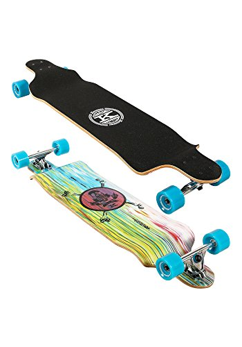 Karnage Drop Down Cruiser Longboard 41   Blue