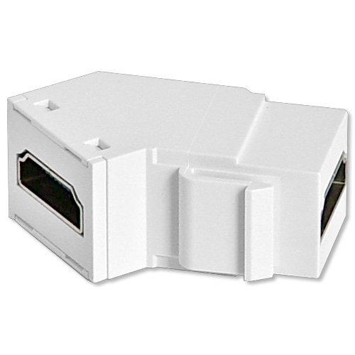 Legrand - On-Q WP1234WH High Definition Multimedia Interface Keystone Insert, White