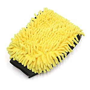 GUAngqi Car Wash Gloves Car Cleaning Wax Detailing Brush Microfiber Chenille