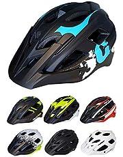 Skullcap® Fahrradhelm ♦ MTB Helm ♦ Mountainbike Helm ♦ Herren & Damen ♦ 7 Designs ✚ Visier/Helmschild