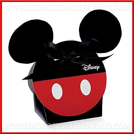Venta AL por Mayor y Ahorro de 12 confitera de cartón con Vans U Mickey Mouse Negras y Rojas, Firmado Disney, bomboneras, pensierini Cumpleaños Niño, para niño: Amazon.es: Hogar