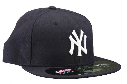 - New York Yankees Authentic Game Performance 59FIFTY On-Field Cap w/2009 Inaugural Stadium Patch - Navy 7 3/8