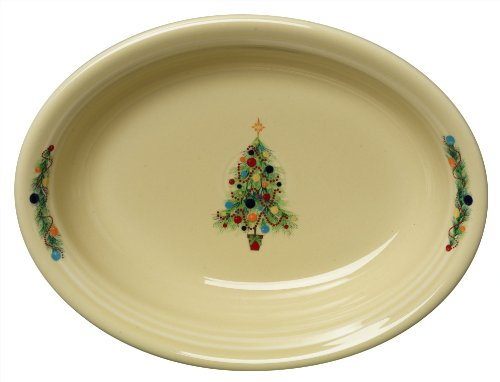 Fiesta Oval Vegetable Bowl, Christmas Tree ()