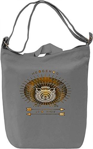 Hipster Hog Borsa Giornaliera Canvas Canvas Day Bag| 100% Premium Cotton Canvas| DTG Printing|