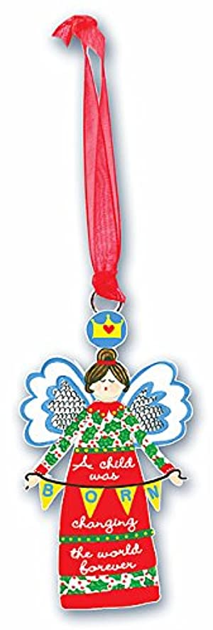 Cathedral Art Always an Angel Decorative Christmas Ornaments