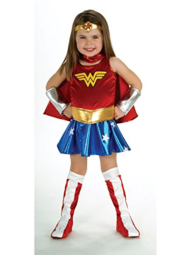 DC Super Heroes Child's Wonder Woman Costume, Toddler -