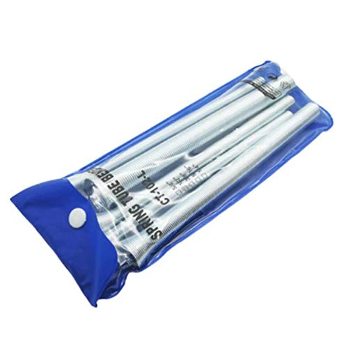 Spring Tube Bender Set 1//2,5//8 3//8 PVC Pipe Conduit Bender 5Pcs Set Applicable Size 1//4 Tubing Bender Set 5//16