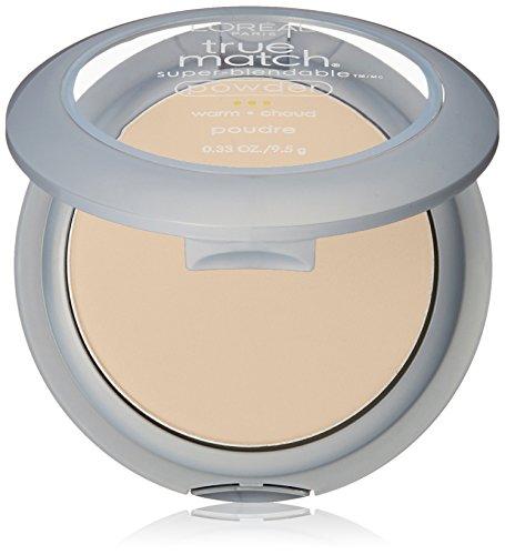 L'Oréal Paris True Match Super-Blendable Powder, W1 Porcelain (Warm) 0.33 Oz
