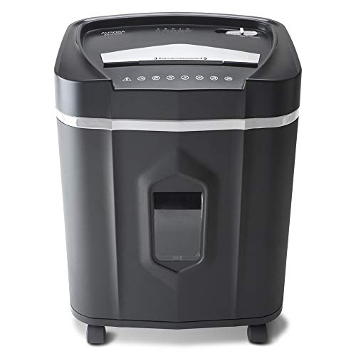 Aurora AU1410MA Professional Grade High Security 14-Sheet Micro-Cut Paper/CD and Credit Card/ 30 Minutes Continuous Run Time Shredder by Aurora (Image #1)