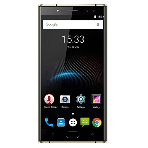 Oukitel Generic K3, 4GB+64GB, Dual Rear Cameras + Dual Front Cameras, 6000mAh Battery, Fingerprint Identification, 5.5 inch Android 7.0 MTK6750T Octa Core up to 1.5GHz, Network: 4G, Dual SIM(Black)