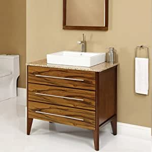 "Amazon.com: Mila 36.5"" x 22"" x 32"" Bathroom Vanity Set ..."