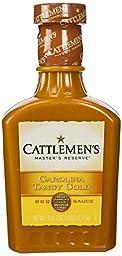 CATTLEMEN\'S Master\'s Reserve Carolina Tangy Gold BBQ Sauce: 18 OZ