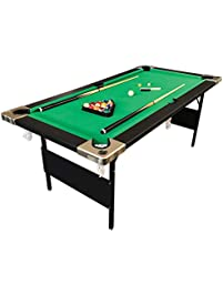 Billiard Pool Table 6u0027 Feet Portable Snooker Accessories Included Game  COLORADO
