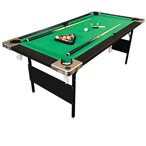 Billiard pool table 6 39 feet portable snooker accessories for Table description