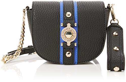 5e38bc4d33 Versace EE1VSBBF5 EMAG 899+202 Black/Blue Shoulder Bag for Womens