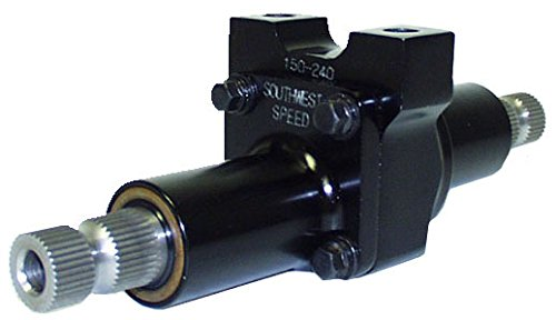 NEW SOUTHWEST SPEED ULTRA-LIGHTWEIGHT RACING STEERING QUICKNER / REDUCER, 2:1 PLANETARY GEAR STYLE QUICK STEER, STEERING REDUCTION BOX, LATE MODEL, MODIFIED, STREET STOCK, GRAND NATIONAL, BUGGY, ETC