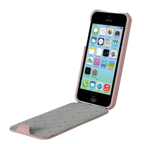 Melkco APIPONLCJT1PKLC Jacka Type Premium Leder Case für Apple iPhone 5C pink