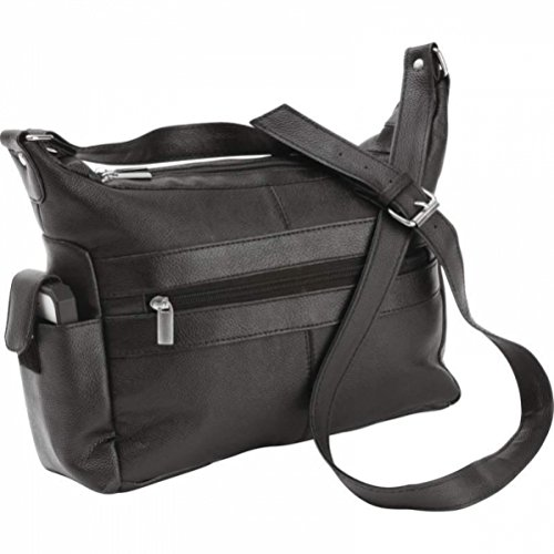 Embassy Solid Genuine Cowhide Leather - Leather Shoulder Genuine Bag Embassy