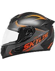 Capacete Moto Mixs MX2 SKYLINE Brilhante