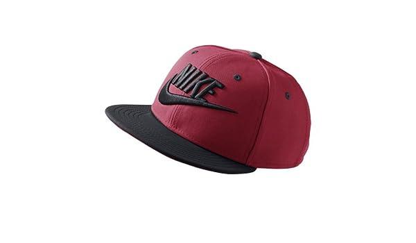 Nike Y Nk True Futura Gorra de Tenis, Unisex niños, Rojo (Gym Red/Negro), Talla Única: Amazon.es: Deportes y aire libre