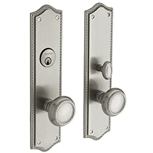 Baldwin Hardware 6554.150.ENTR Barclay Knob Entrance Front Door