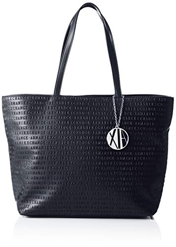 Armani Exchange Donna Shopping Blu Womans navy Borse Tote AA4rnx