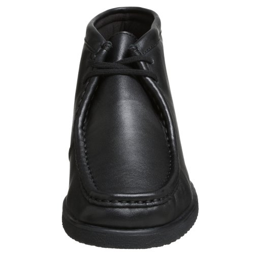 da Hush pelle Puppies Leather nera uomo Bootport in vRntHRqw