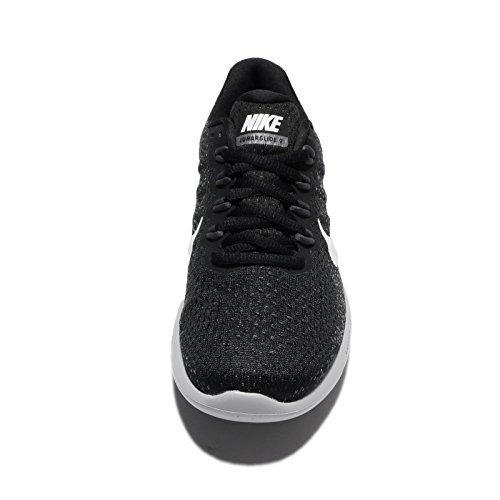 Nike Wmns Lunarglide 9, Zapatillas de Entrenamiento para Mujer Multicolor (Black/white/dark Grey/wolf Grey)