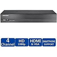 Samsung SRD-493-2TB 4 Channel 1080p Analog HD Real-Time Coaxial DVR, 2TB