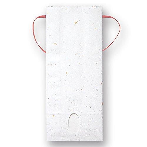 マルタカ 雲龍和紙 無地 金銀(赤紐) 窓付 角底 1~1.5kg 用紐付米袋 1ケース(300枚入) KH-0911 B077GKDLYB 1kg用米袋|1ケース(300枚入)